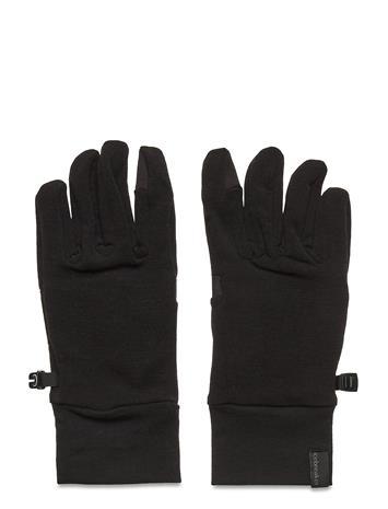 Icebreaker Adult Sierra Gloves Hanskat Käsineet Musta Icebreaker BLACK