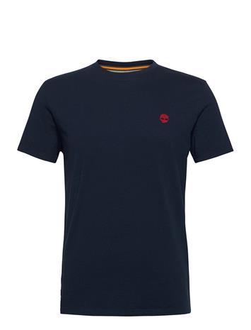Timberland Ss Dun-River Crew T T-shirts Short-sleeved Sininen Timberland DARK SAPPHIRE