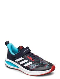 adidas Performance Fortarun Spiderman El K Shoes Sports Shoes Running/training Shoes Sininen Adidas Performance LEGINK/VIVRED/SIGCYA