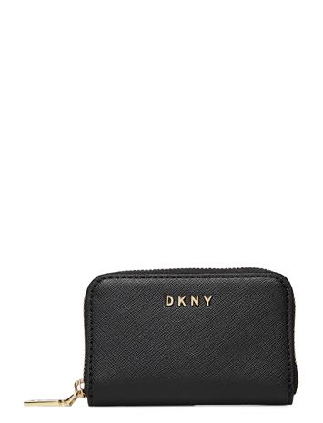 DKNY Bags Gifting Zip Around C Bags Card Holders & Wallets Wallets Musta DKNY Bags BLK/GOLD