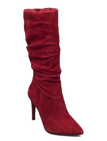 Tamaris Heart & Sole Woms Boots Korkeavartiset Saapikkaat Punainen Tamaris Heart & Sole RUBY