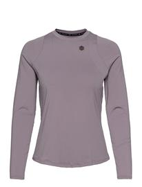 Under Armour Ua Rush Ls T-shirts & Tops Long-sleeved Liila Under Armour SLATE PURPLE