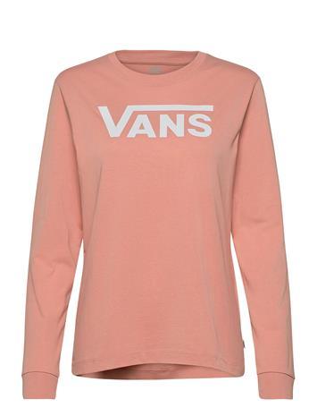 VANS Flying V Classic Ls Bf T-shirts & Tops Long-sleeved Vaaleanpunainen VANS ROSE DAWN
