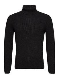 Marc O'Polo Pullover Long Sleeve Knitwear Turtlenecks Harmaa Marc O'Polo DARK GREY MELANGE
