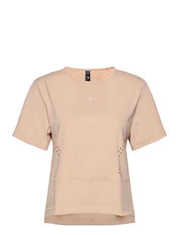 adidas by Stella McCartney Truestr L Tee T-shirts & Tops Short-sleeved Oranssi Adidas By Stella McCartney SOFPOW