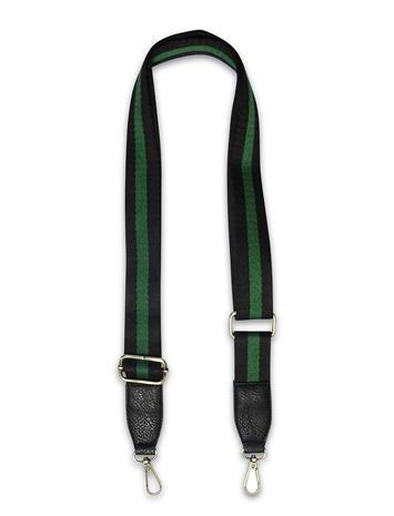 PIPOL'S BAZAAR Strap Striped Green Bags Bag Straps Vihreä PIPOL'S BAZAAR MULTI