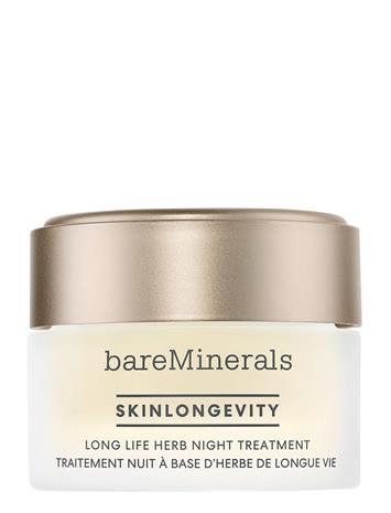bareMinerals Skinlongevity Long Life Herb Night Treatment Beauty WOMEN Skin Care Face Night Cream Nude BareMinerals NO COLOUR