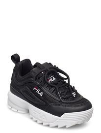 FILA Disruptor A Kids Tennarit Sneakerit Kengät Musta FILA BLACK/LEOPARD