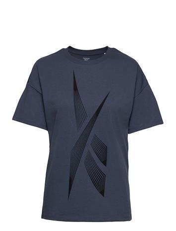 Reebok Performance Sr Graphic Tee T-shirts & Tops Short-sleeved Sininen Reebok Performance SMOIND