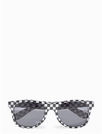 VANS Spicoli 4 Shades Wayfarer Aurinkolasit Musta VANS BLACK/WHITE CHECK/FLAME