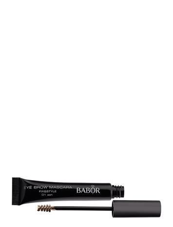 Babor Eye Brow Mascara Fix&Style 01 Ripsiväri Maskara Meikki Musta Babor 01 ASH