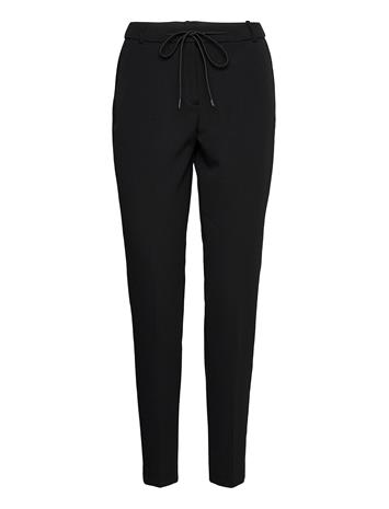 Esprit Collection Pants Woven Casual Housut Musta Esprit Collection BLACK