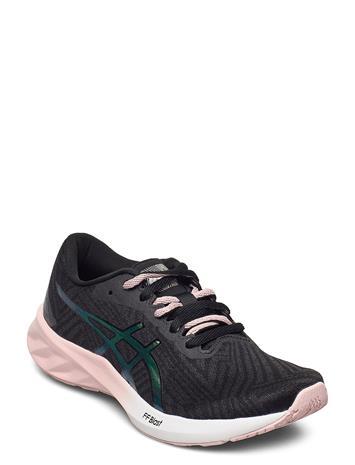 Asics Roadblast Shoes Sport Shoes Running Shoes Musta Asics GRAPHITE GREY/GINGER PEACH