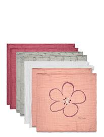 Pippi Organic Cloth Muslin Home Bath Time Towels And Cloths Vaaleanpunainen Pippi MISTY ROSE