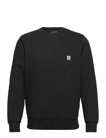 Diesel Men S-Girk-K12 Sweat-Shirt Svetari Collegepaita Musta Diesel Men BLACK BLACK BLACK