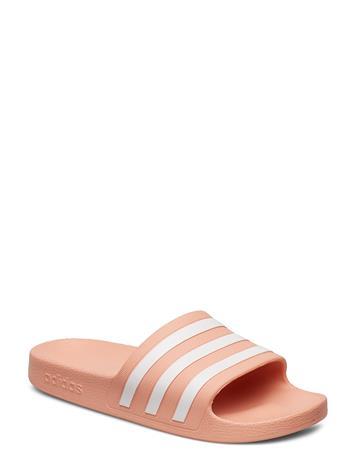 adidas Performance Adilette Aqua Shoes Summer Shoes Pool Sliders Vaaleanpunainen Adidas Performance DUSPNK/FTWWHT/DUSPNK