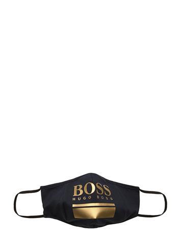 BOSS Boss Mask Gold Accessories Face Masks Musta BOSS OPEN MISCELLANEOUS
