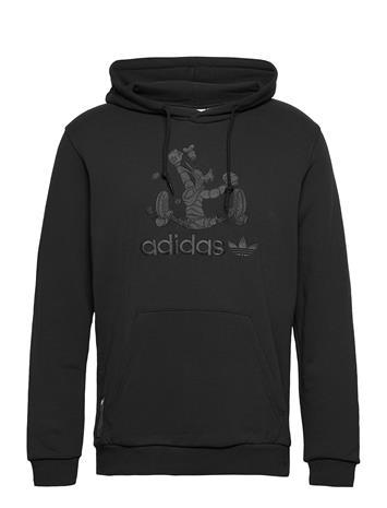 adidas Originals Goofy Hoody Huppari Musta Adidas Originals BLACK/BLACK