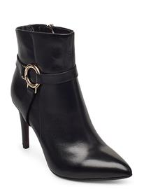 Tamaris Heart & Sole Woms Boots Shoes Boots Ankle Boots Ankle Boot - Heel Musta Tamaris Heart & Sole BLACK