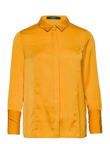 GUESS Jeans Ls Vivian Shirt Pitkähihainen Paita Keltainen GUESS Jeans HARVEST MOON