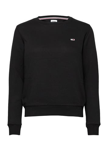 Tommy Jeans Tjw Regular Fleece C Svetari Collegepaita Musta Tommy Jeans BLACK