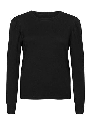 Fransa Zubasic 130 Pullover Neulepaita Musta Fransa BLACK, Naisten paidat, puserot, topit, neuleet ja jakut