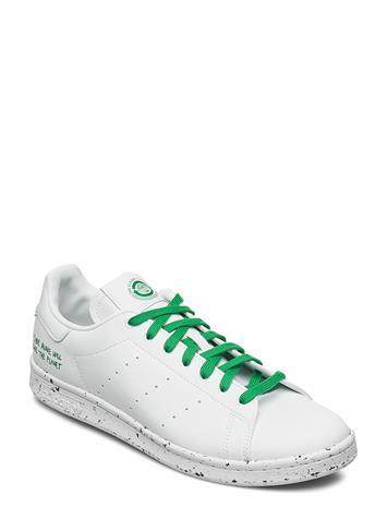 adidas Originals Stan Smith Matalavartiset Sneakerit Tennarit Valkoinen Adidas Originals FTWWHT/FTWWHT/GREEN