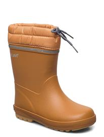 CeLaVi Thermal Wellies W. Lining Kumisaappaat Ruskea CeLaVi PUMPKIN SPICE