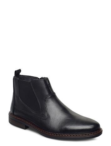 Rieker 37662-00 Shoes Chelsea Boots Musta Rieker BLACK