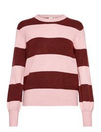 ICHI Iheden Ls2 Neulepaita Vaaleanpunainen ICHI ZEPHYR, Naisten paidat, puserot, topit, neuleet ja jakut