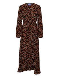 Cras Rosaliacras Maxi Dress Polvipituinen Mekko Ruskea Cras ROSALIA, Naisten hameet ja mekot