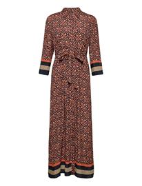 Esprit Collection Dresses Light Woven Maksimekko Juhlamekko Ruskea Esprit Collection CAMEL 4