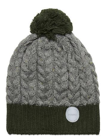 Reima Pohjola Accessories Headwear Hats Vihreä Reima DARK GREEN, Lastenvaatteet