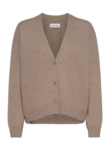 Samsä¸e Samsä¸e Amaris Short Cardigan 12758 Neuletakki Beige Samsä¸e Samsä¸e KHAKI MEL., Naisten paidat, puserot, topit, neuleet ja jakut