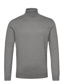 Esprit Casual Sweaters Knitwear Turtlenecks Harmaa Esprit Casual MEDIUM GREY 5, Miesten paidat, puserot ja neuleet
