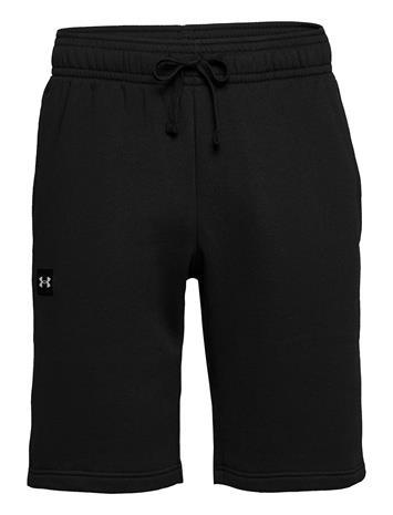 Under Armour Ua Rival Fleece Shorts Shorts Sport Shorts Musta Under Armour BLACK