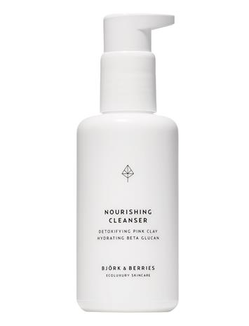 Björk & Berries Nourishing Cleanser Beauty WOMEN Skin Care Face Cleansers Cleansing Gel Nude Björk & Berries NO COLOUR