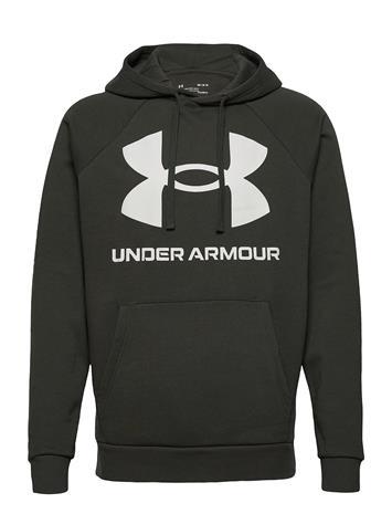 Under Armour Ua Rival Fleece Big Logo Hd Huppari Vihreä Under Armour BAROQUE GREEN