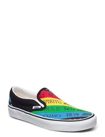 VANS Ua Classic Slip-On Matalavartiset Sneakerit Tennarit Monivärinen/Kuvioitu VANS (VANS SPIRIT)MULTI/TR WHT