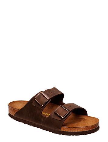 Birkenstock Arizona Shoes Summer Shoes Sandals Ruskea Birkenstock PEAT