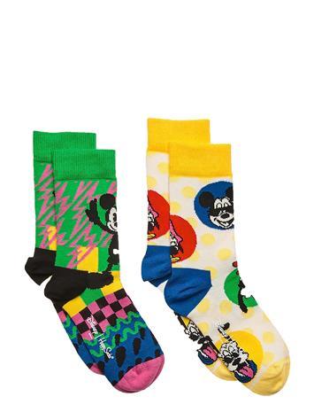 Happy Socks 2-Pack Kids Disney Gift Set Sukat Monivärinen/Kuvioitu Happy Socks MULTI