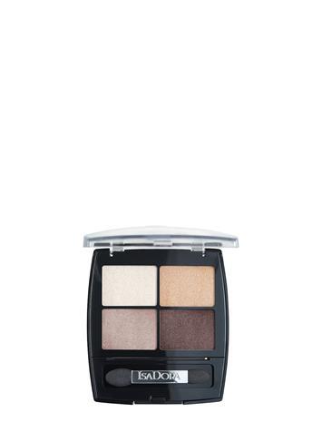 Isadora Eye Shadow Quartet 35 Pearls Beauty WOMEN Makeup Eyes Eyeshadow Palettes Monivärinen/Kuvioitu Isadora 035 PEARLS