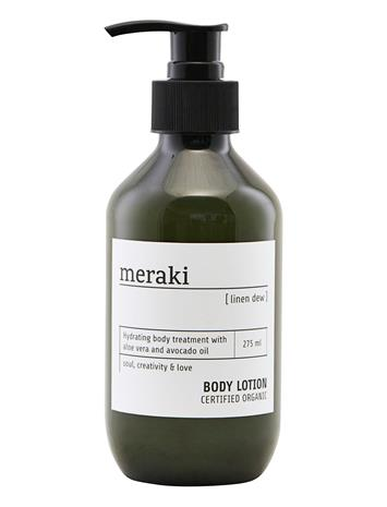 meraki Body Lotion, Linen Dew Kosteusvoide Vartalo Nude Meraki NO COLOUR
