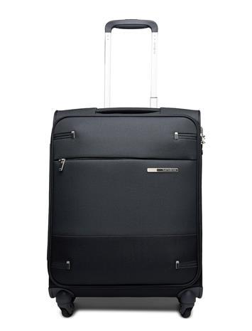 Samsonite Base Boost Spinner 55cm Bags Weekend & Gym Bags Musta Samsonite BLACK