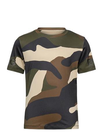 Björn Borg Tee Borg Borg T-shirts Short-sleeved Monivärinen/Kuvioitu Björn Borg PEACE
