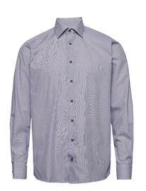 Eton Contemporary Fit Cotton Shirt Paita Bisnes Sininen Eton BLUE