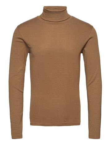 Marc O'Polo T-Shirts Long Sleeve Knitwear Turtlenecks Ruskea Marc O'Polo COFFEE LIQUEUR