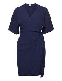 Lindex Dress Mom Lisen Polvipituinen Mekko Sininen Lindex BLUE