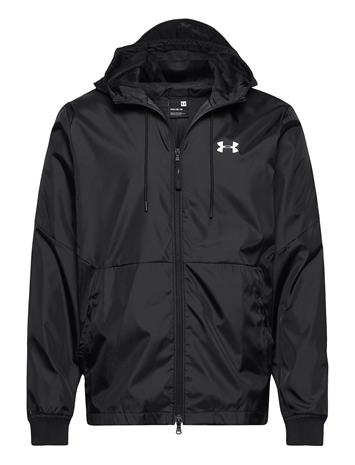 Under Armour Ua Field House Jacket Outerwear Sport Jackets Musta Under Armour BLACK