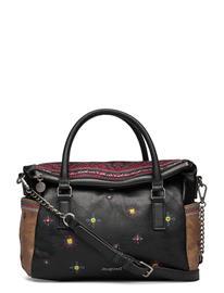 Desigual Accessories Bols Lululove Loverty Bags Top Handle Bags Musta Desigual Accessories NEGRO